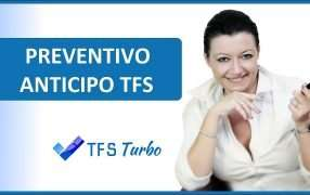Preventivo anticipo TFS Inps 1